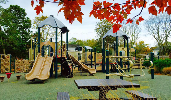 Playground Seating Area